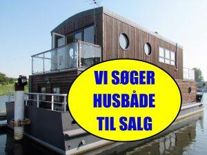 Husbåde søges til salg